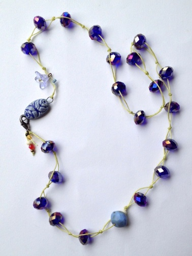 BeadLove - Summer Carnival Crystal Necklace