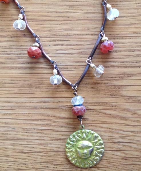 BeadLove - PRT SMN sun necklace full