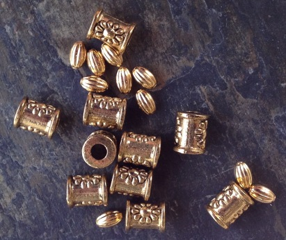 PRT clay and metal beads