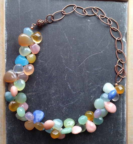 Briolette necklace
