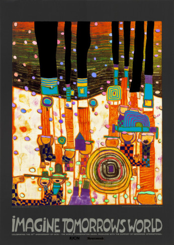 friedensreich-hundertwasser-imagine-tomorrows-world-orange