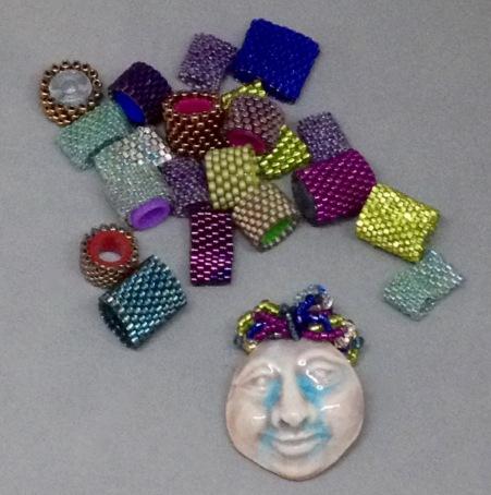 medusa and beads
