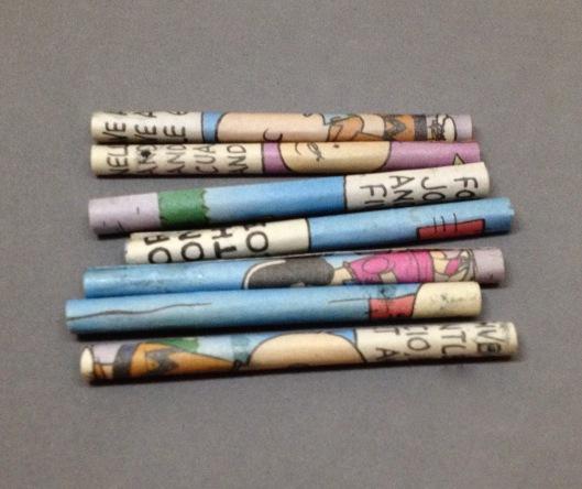 cartoons paper beads