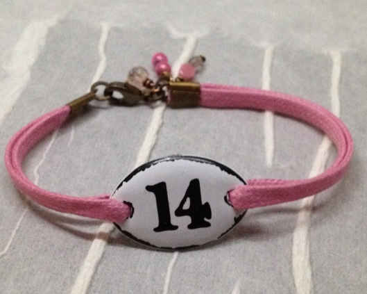 BeadLove - BA cotton cord bracelet