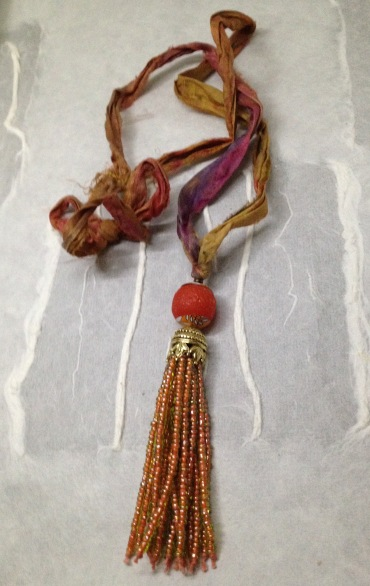 BeadLove LH tassel necklace