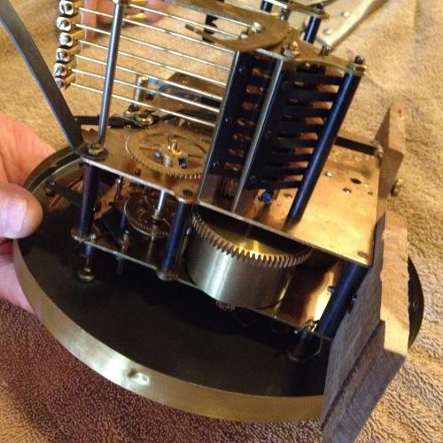 clock inner casing