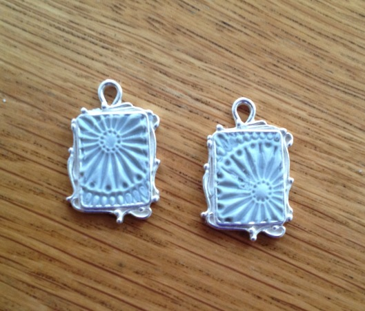 crystal clay stamp plain