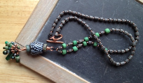 Evergreen black and copper