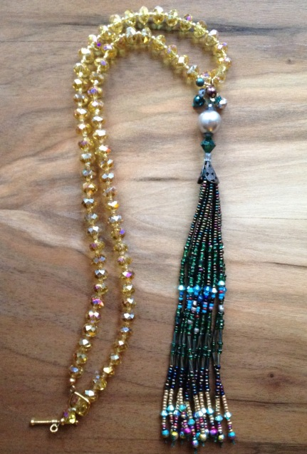 evergreen fancy tassel
