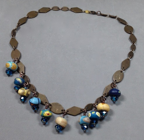 BeadLove starry night necklace full