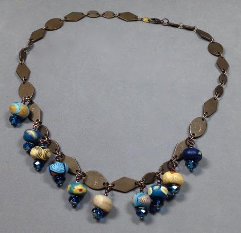BeadLove starry night necklace full