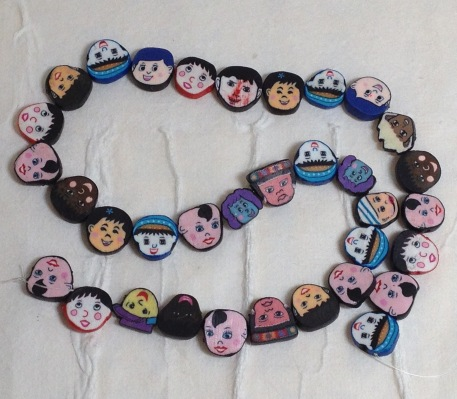 faces beads