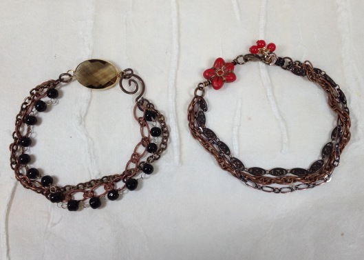 stacking chain bracelets