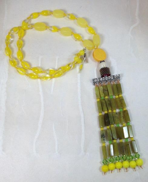 BeadLove Meadow Song necklace