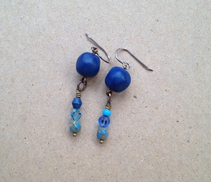 BeadLove - Hidden Cove earrings