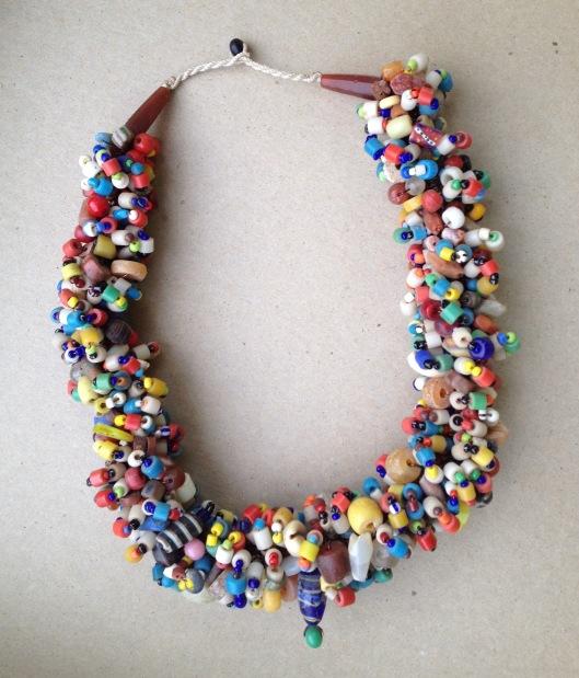 broken bead necklace