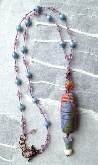 BeadLove - Gentle Spring Artybecca necklace