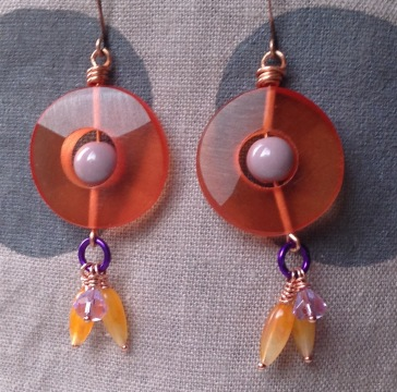 BeadLove - Mystery Challenge earrings