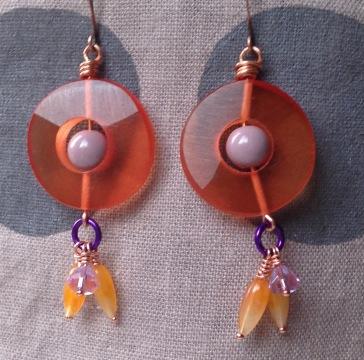 BeadLove - Mystery Challenge earrings