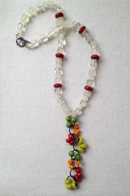 BeadLove - large hole glass necklace