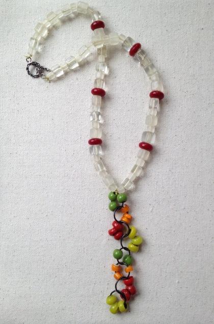 BeadLove - large hole glass necklace