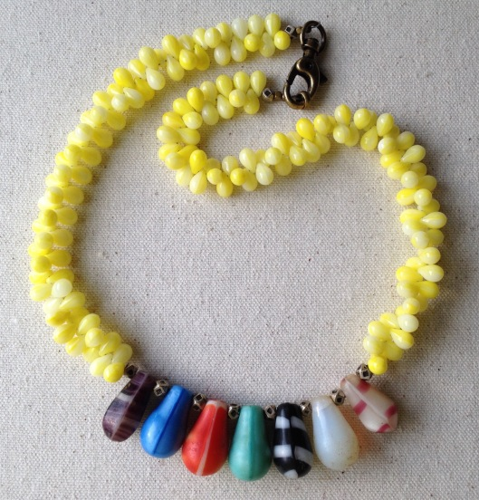 BeadLove - mali wedding bead necklace