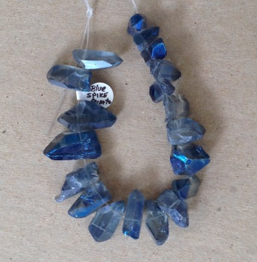 blue spike quartz