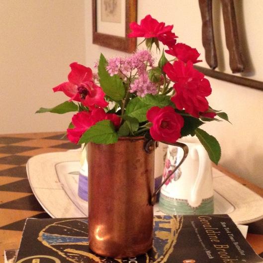 Dad's mini flower arrangement
