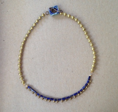 Mystery Kit 2 lapis necklace